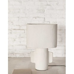 Lampe de table blanche serax